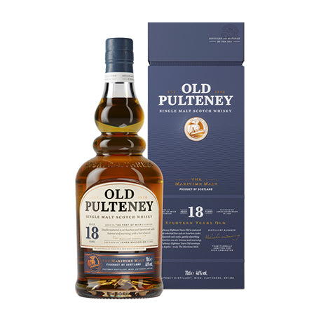 OLD PULTENEY 18 YEARS OLD