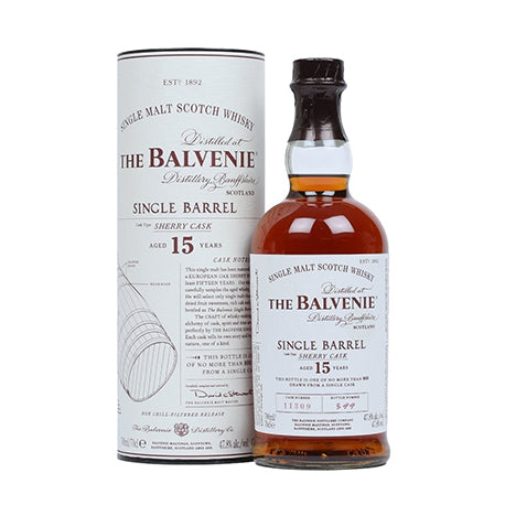 THE BALVENIE SINGLE BARREL 15 YEARS OLD