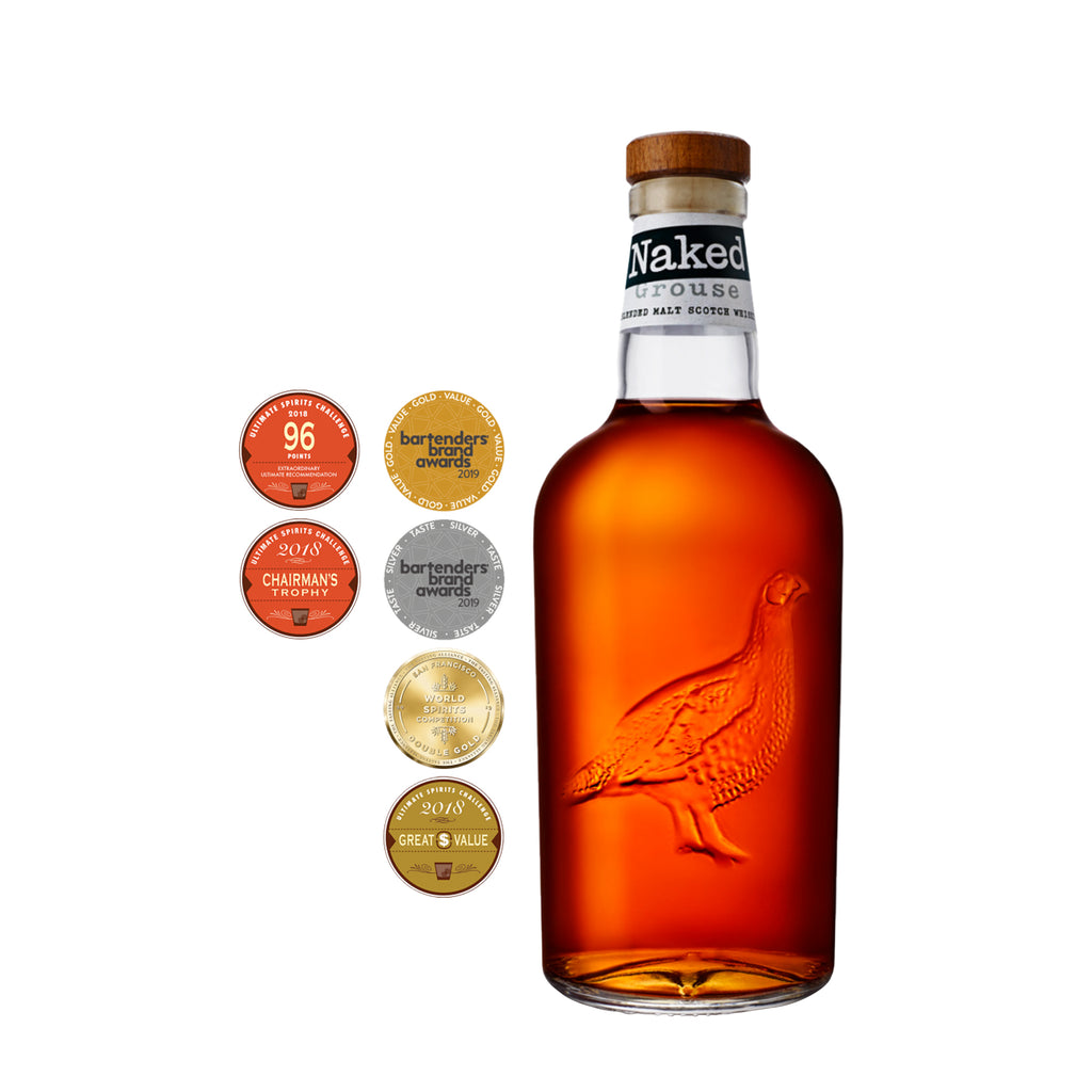 THE NAKED GROUSE BLENDED SCOTCH WHISKY