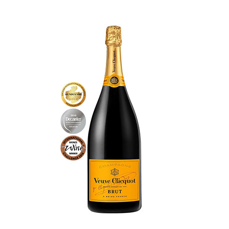 VEUVE CLICQUOT PONSADIN BRUT YELLOW LABEL (MAGNUM)
