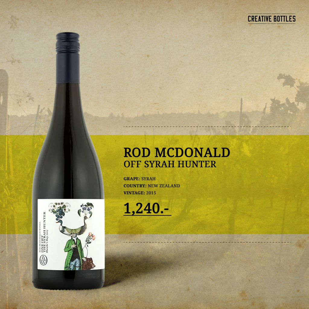 ROD MCDONALD OFF SYRAH HUNTER