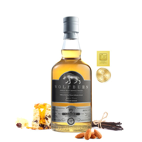 WOLFBURN LANGSKIP SINGLE MALT SCOTCH WHISKY