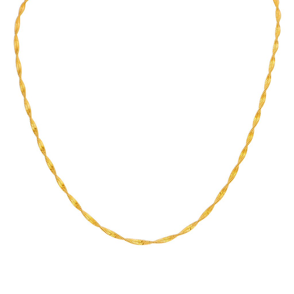 22kt Vertical Women Chain