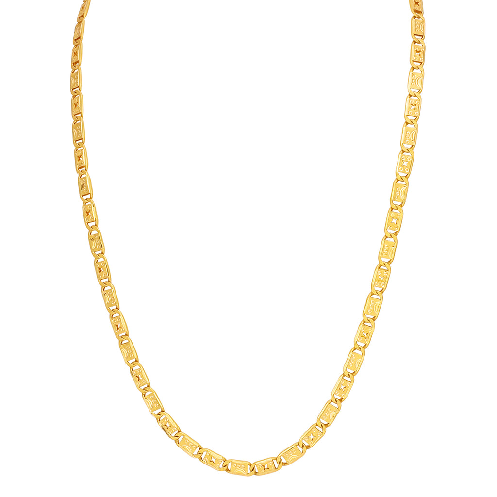 Nawabi Chain 22kt Gold For Men's