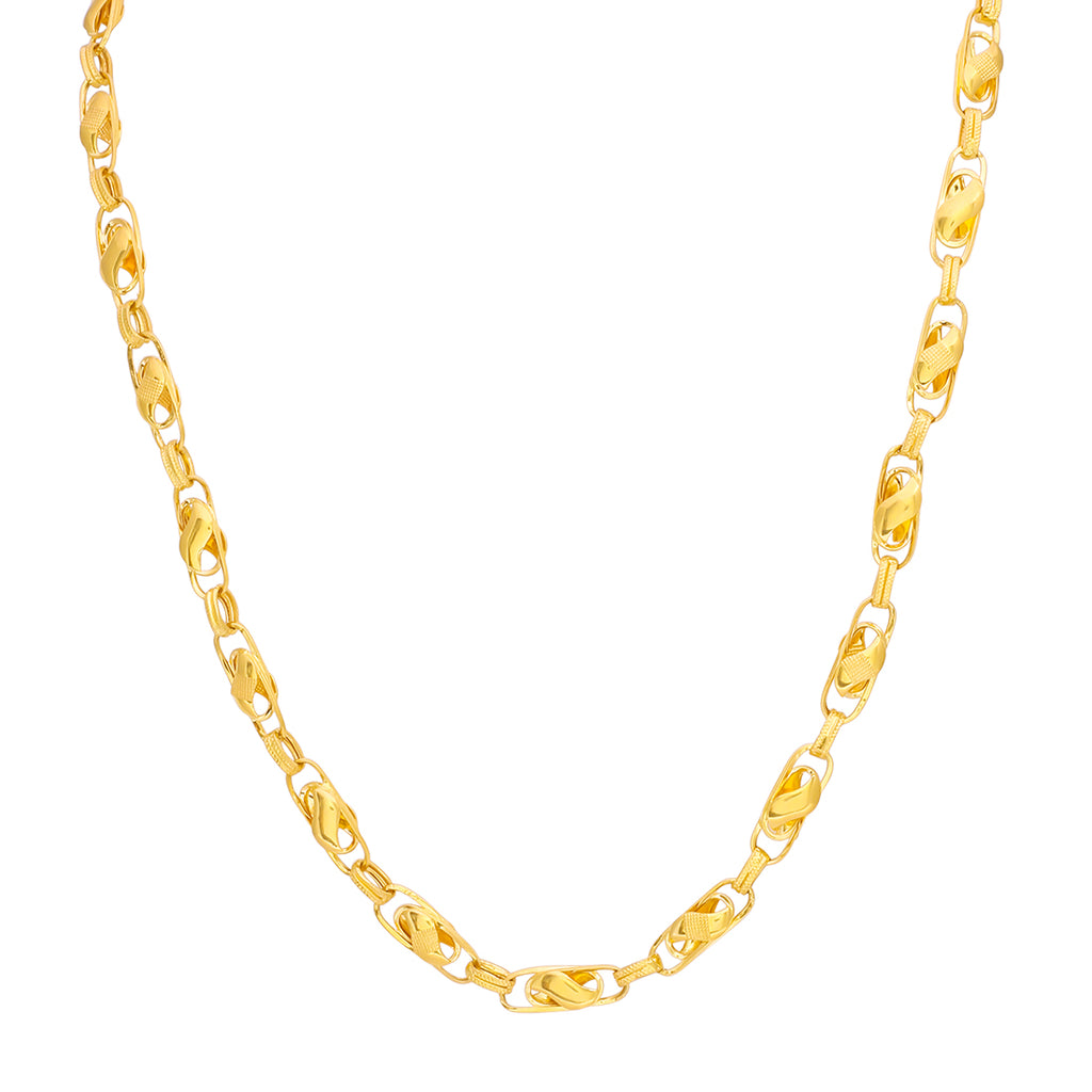 Hollow Chain 22kt Gold