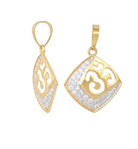 Kanishq by Monica Om Pendant 18kt Yellow Gold