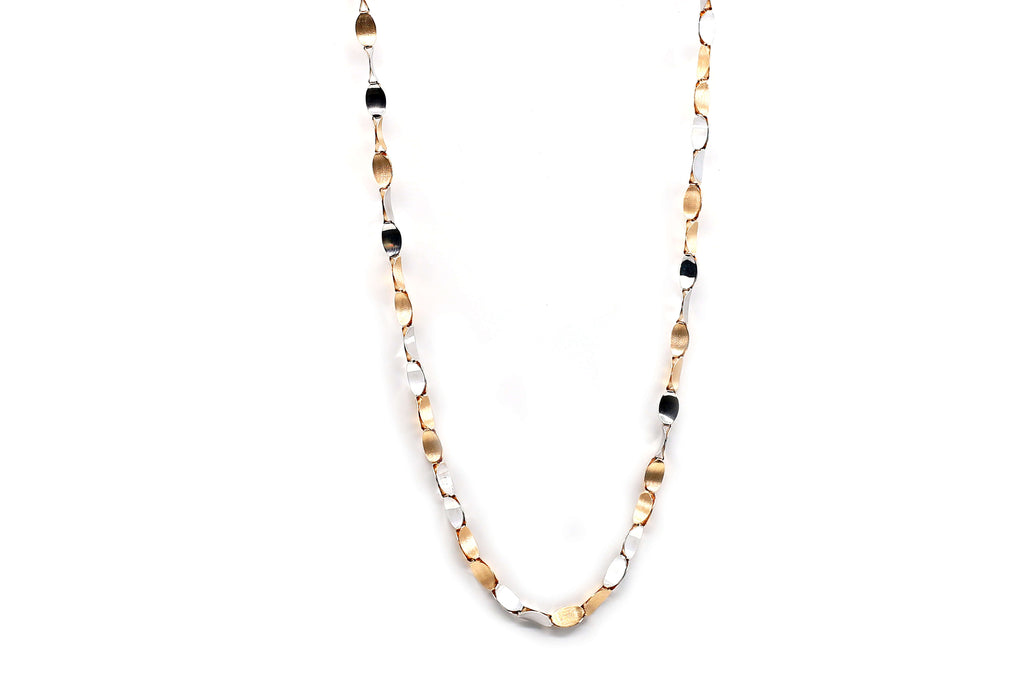 Vertical Design chain 18kt
