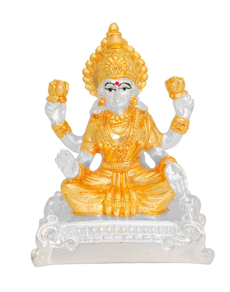 lord Laxmi murti 999 Gold & Silver Plated