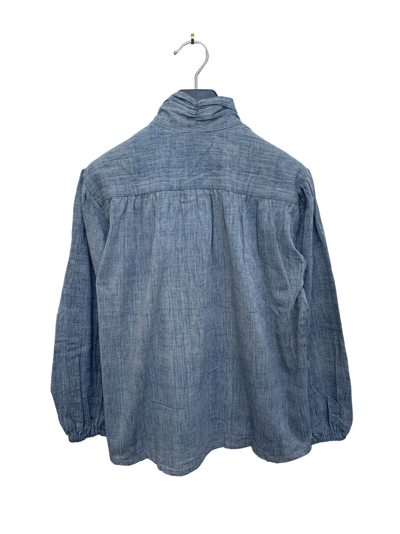 Sabrina Top in Chambray