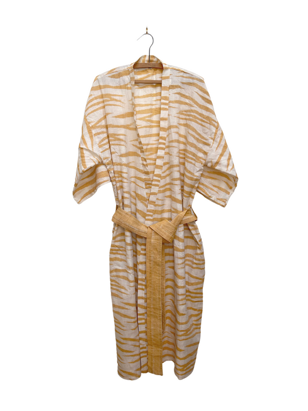 Robe in Ikat