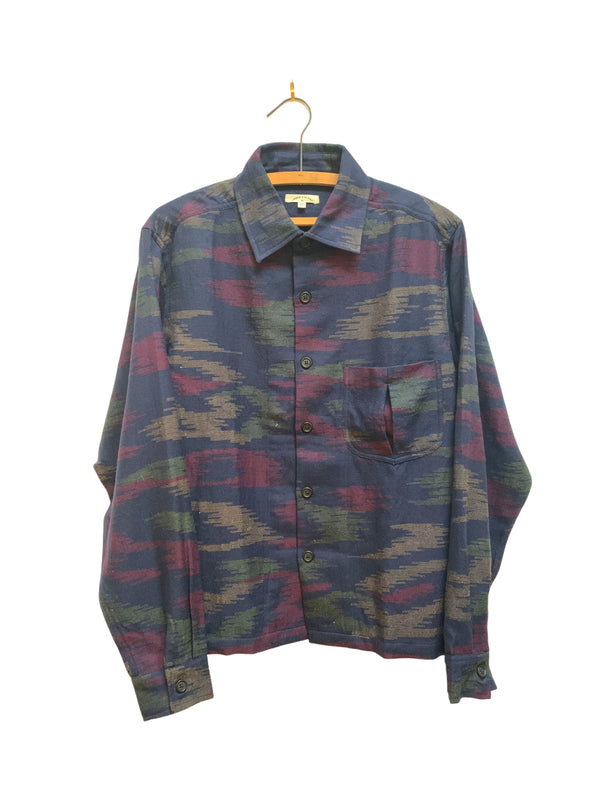 Smith Shirt in Camo Wool