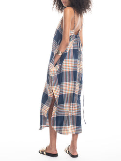 Sadie Camisole Dress in Plaid