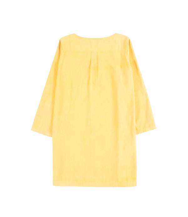 Emily Dress Corn Yellow