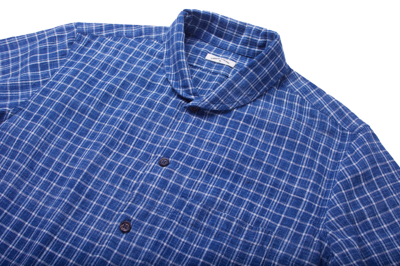 Havana Shirt Indigo Plaid