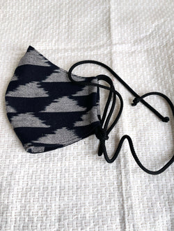 Face Mask in Ikat