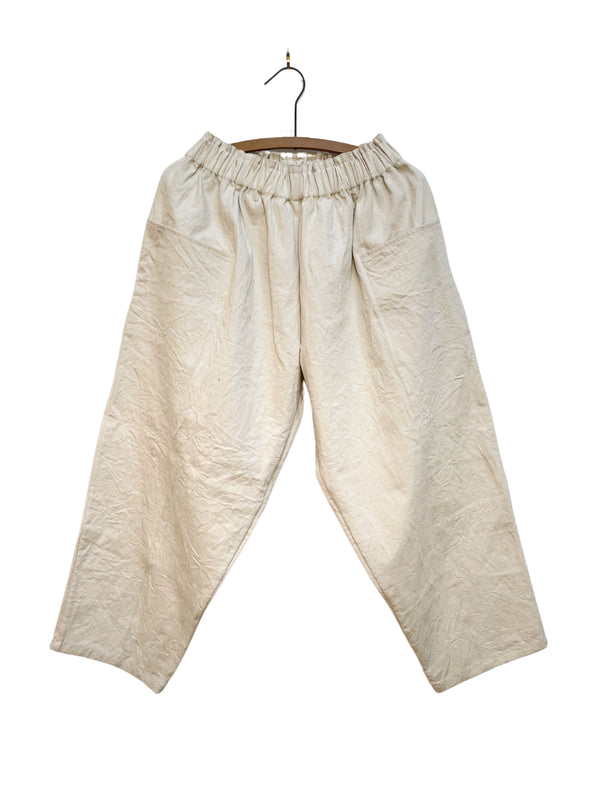 Front Pocket Pant in Natural Twill