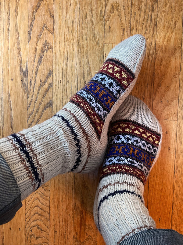 Hand Knit Socks (Assorted)