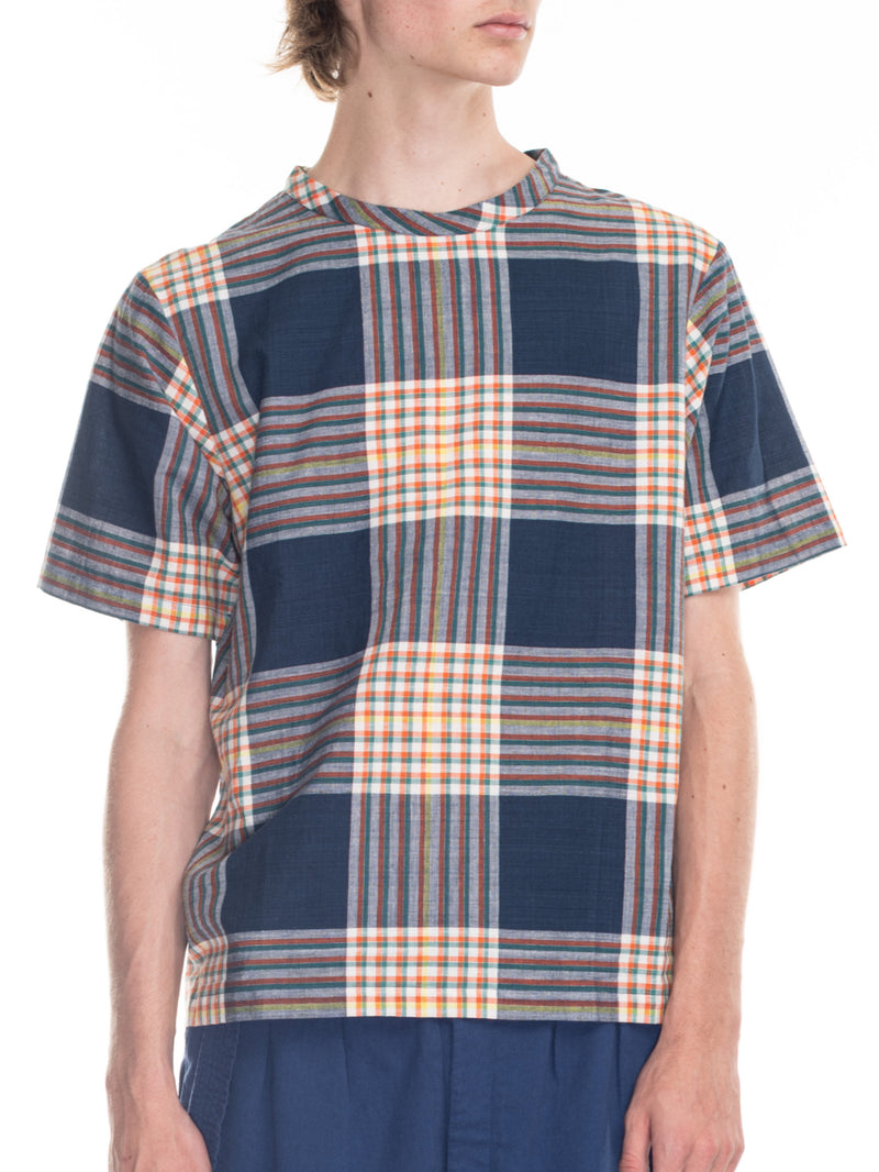 Justice Woven T in Plaid