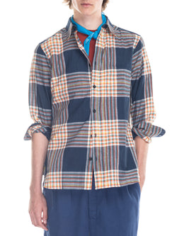 Kabir Sport Shirt in Plaid