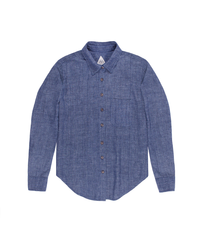 Rosalyn Shirt Indigo Chambray