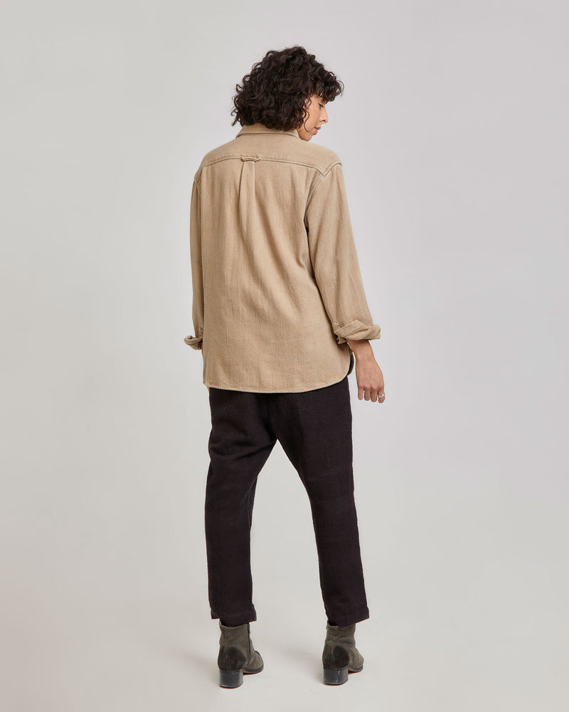 Kabir Sport Shirt in Camel