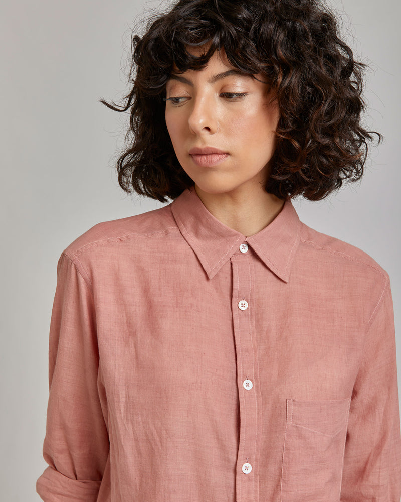 Kabir Sport Shirt in Opal