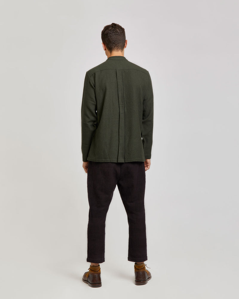 Karl Shirt in Army Green