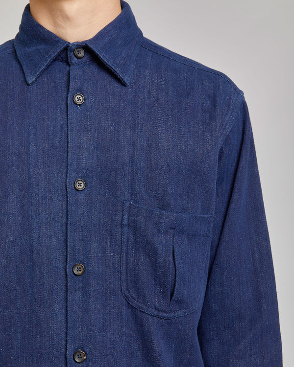 Smith Shirt in Indigo