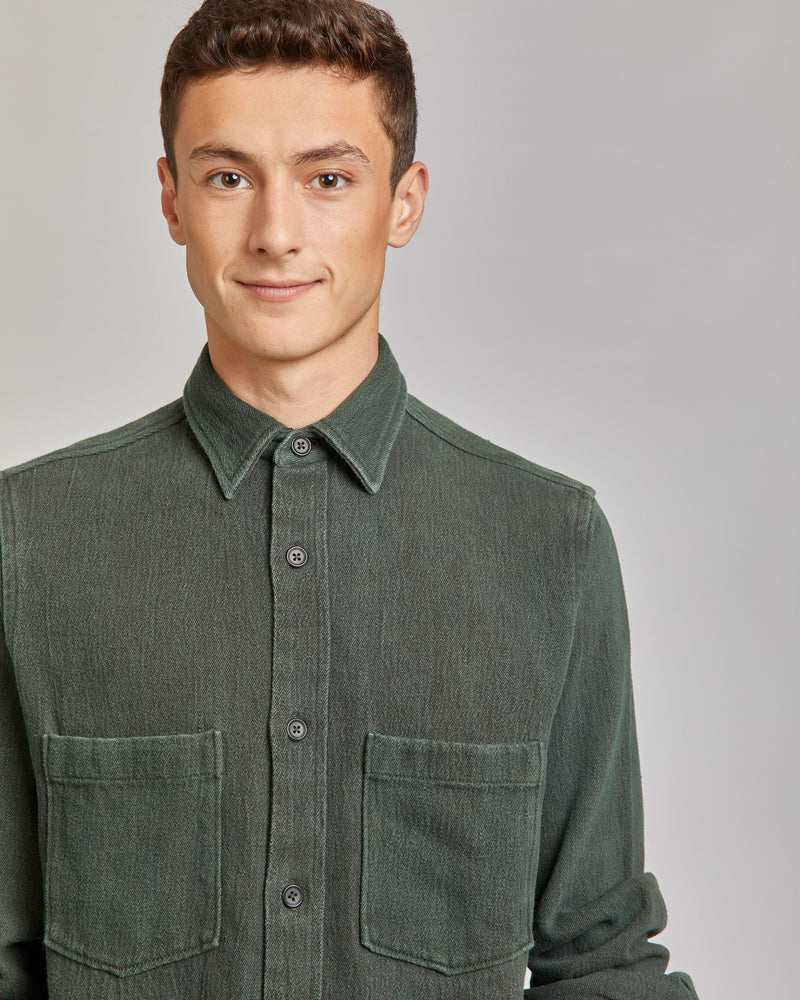 Ajay Shirt in Army Green