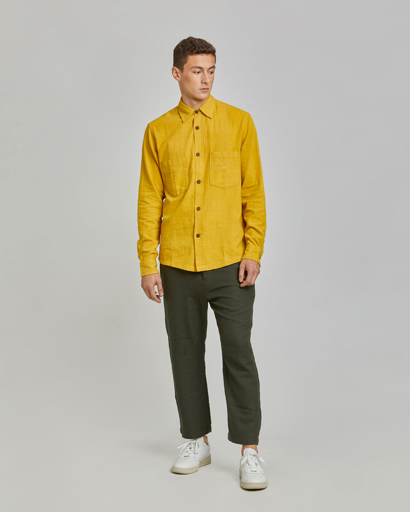 Ajay Shirt in Turmeric
