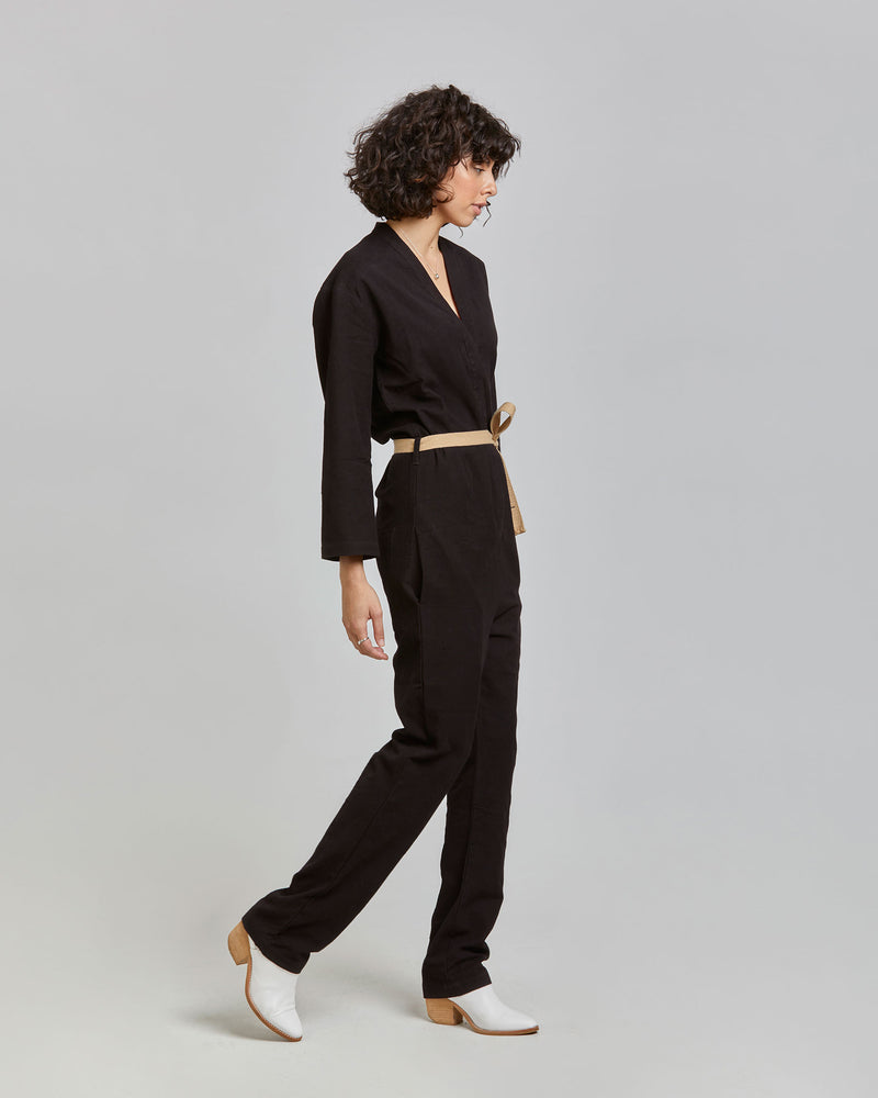 Charlie Jumpsuit in Black