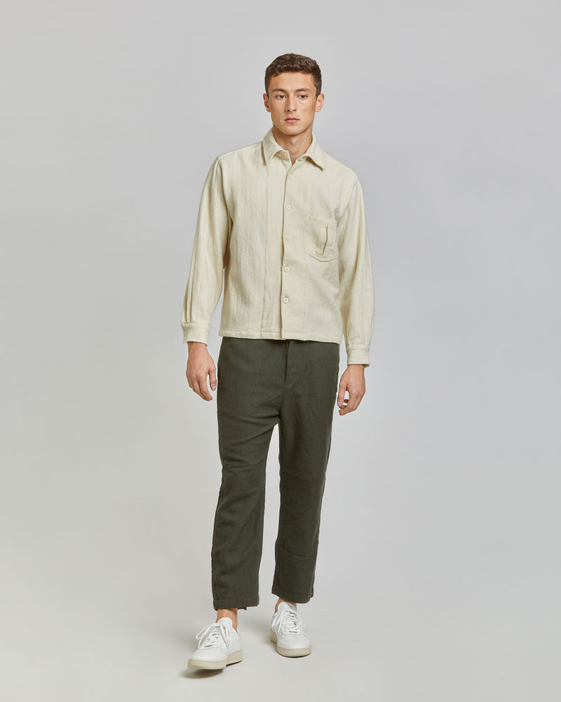 Smith Shirt in Ivory