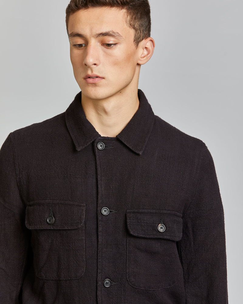 Jack Denim Jacket in Black
