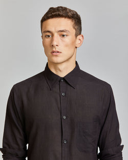 Kabir Sport Shirt in Black