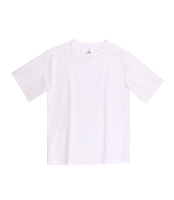 Justice Woven Tee White