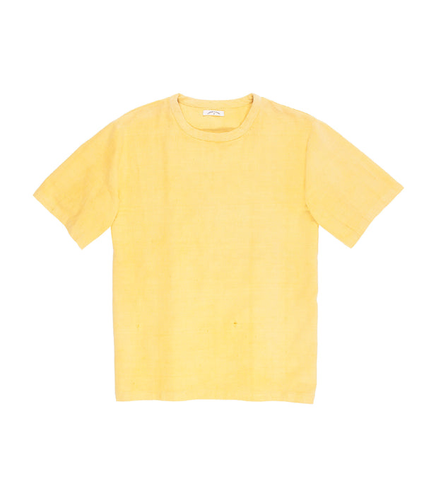 Justice Woven Tee Corn Yellow