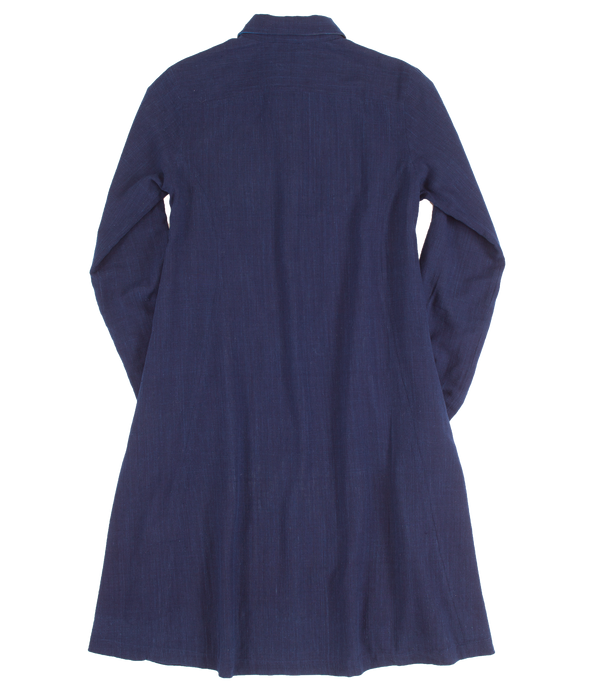 Evie Dress in Indigo