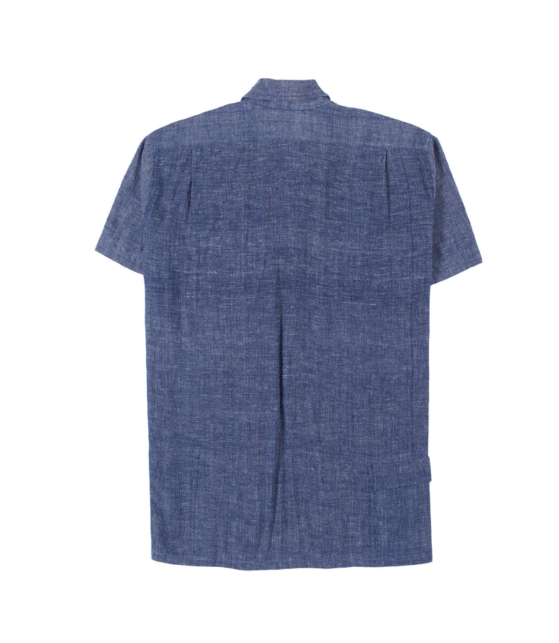 Havana Shirt in Indigo Chambray