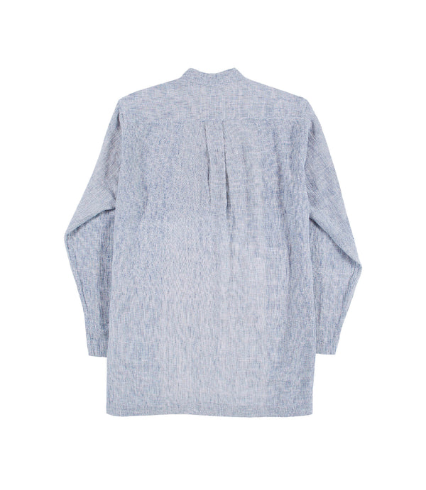 Karl Band Shirt Indigo Gauze