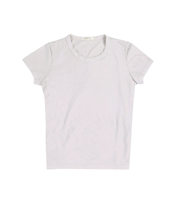 Jane Organic Jersey Tee Burnt Grey
