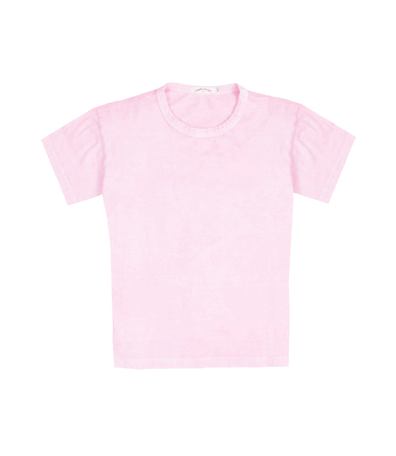 Jane Organic Jersey Tee Cotton Candy
