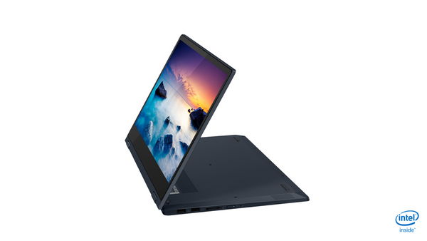 "Lenovo FLEX-14IML 2-IN-1 Core™ i5-10210U 1.6GHz 256GB SSD 8GB 14"" (1920x1080) TOUCHSCREEN BT WIN10 Webcam ONYX BLACK Backlit Keyboard FP Reader"