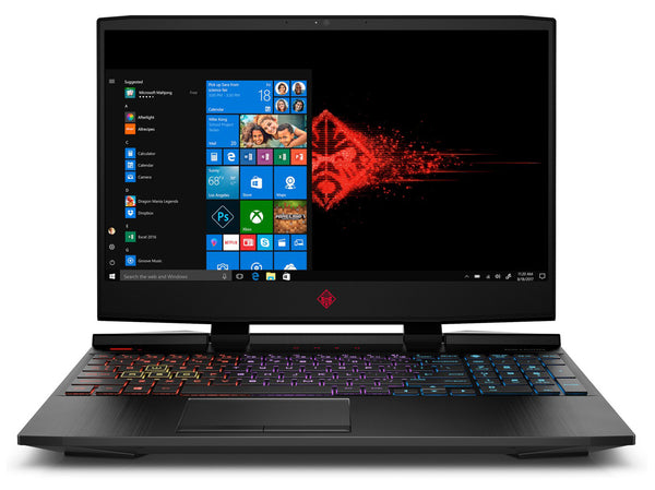 "HP OMEN 15 GAMING Core™ i7-10750H 2.6GHz 512GB SSD 32GB 15.6"" (1920x1080) 300Hz BT WIN10 Webcam NVIDIA® RTX SUPER 2070 8192MB SHADOW BLACK Backlit Keyboard"