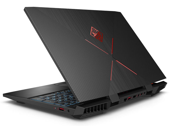 "HP OMEN 15-DH1070 GAMING BUNDLE Core™ i7-10750H 2.6GHz 256GB SSD + 1TB 16GB 15.6"" (1920x1080) BT WIN10 Webcam NVIDIA® GTX 1660Ti 6144MB SHADOW BLACK Backlit Keyboard OMEN 400 Mouse & OMEN 800 Headset כולל באנדל מגניב"