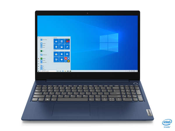 "Lenovo 3-15IIL Core™ i3-1005G1 1.2GHz 256GB SSD 8GB 15.6"" HD  BT WIN10 Webcam ABYSS BLUE"