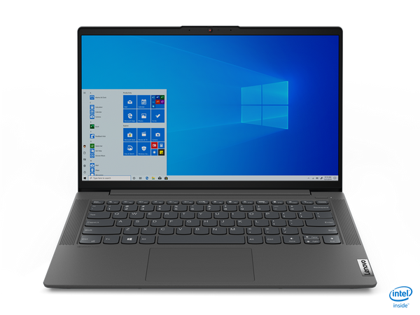 "Lenovo 5 14IIL05 Core™ i5-1035G1 1.0GHz 256GB SSD 8GB 14"" (1920x1080) BT WIN10 Webcam NVIDIA® MX350 2048MB SLATE GREY Backlit Keyboard FP Reader"