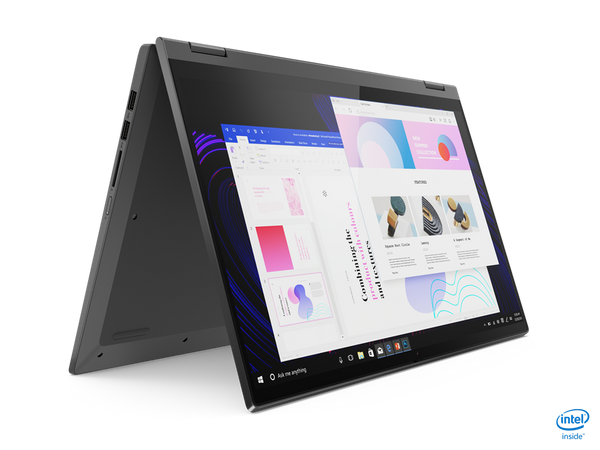 "Lenovo FLEX-15IIL05 2-IN-1 Core™ i5-1035G1 1.0GHz 256GB SSD 8GB 15.6"" (1920x1080) TOUCHSCREEN BT WIN10 Webcam GRAPHITE GRAY Backlit Keyboard FP Reader."