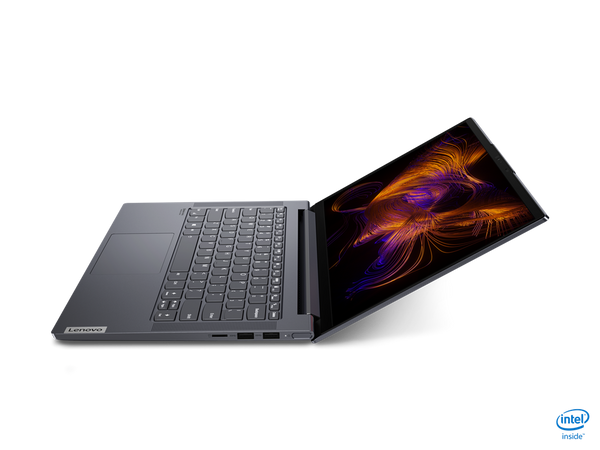 "Lenovo Slim 7 14IIL05 Core™ i7-1065G7 1.3GHz 1TB SSD 16GB 14"" (1920x1080) BT WIN10 Webcam NVIDIA® GTX MX350 2048MB SLATE GRAY Backlit Keyboard FP Reader"