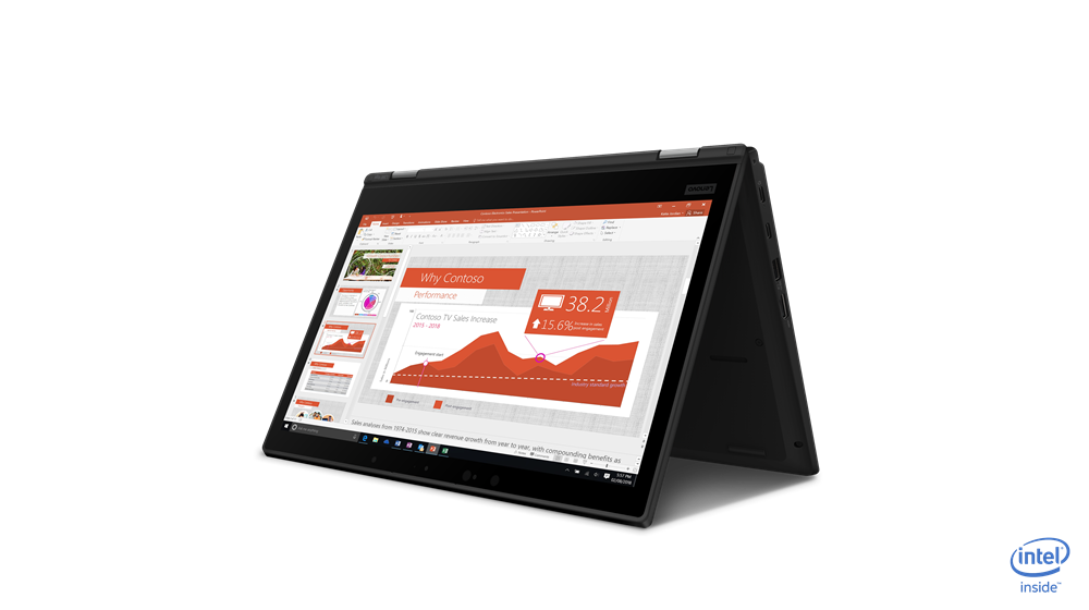 Lenovo ThinkPad L390 YOGA Core™ i3-8145U 1.6GHz 256GB SSD 4GB TOUCHSCREEN BT WIN10 Pro Webcam