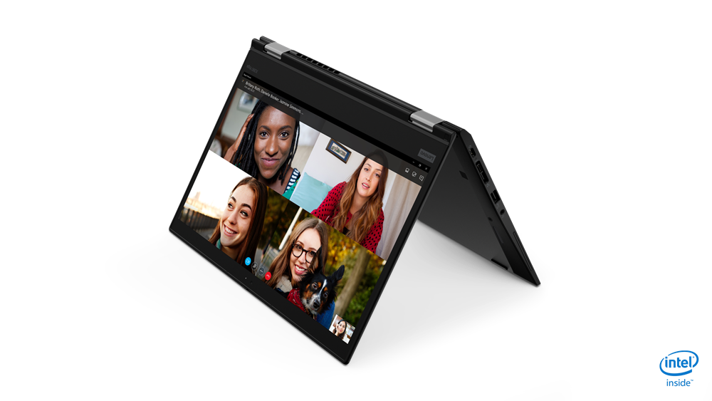 "Lenovo ThinkPad X390 Yoga Core™ i7-8665U 1.9GHz 512GB SSD 16GB 13.3""FHD - כולל עט  TOUCHSCREEN BT WIN10 Pro Webcam"